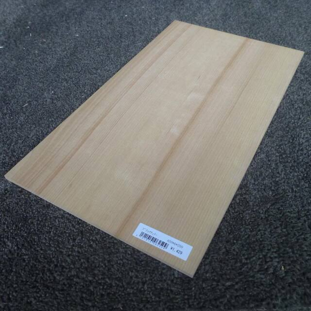 ブラックチェリー 柾目 450×6×250
