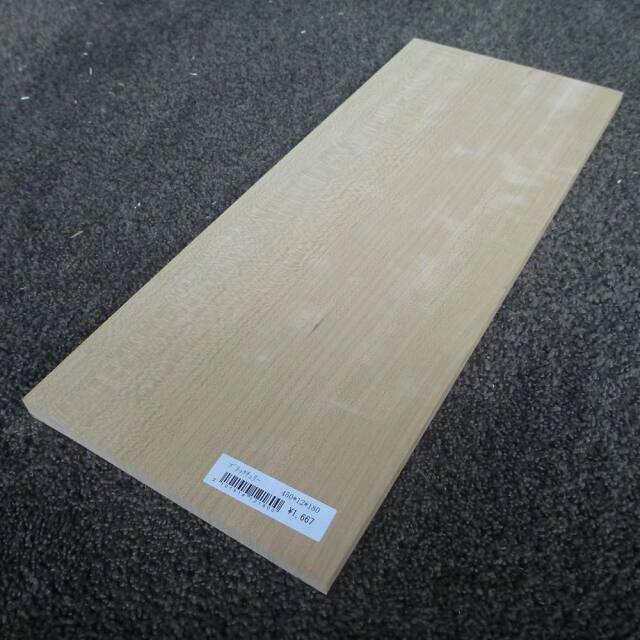 ブラックチェリー 柾目 450×12×180
