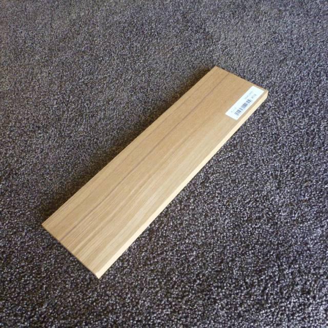 チーク柾目300×12×80