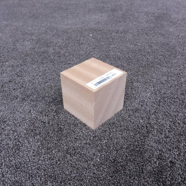 サペリ 立方体 70×70×70