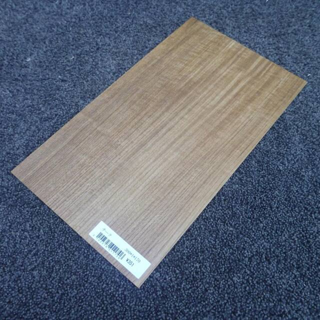 チーク 柾目 300×1×170