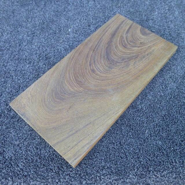 チーク 板目 300×18×150