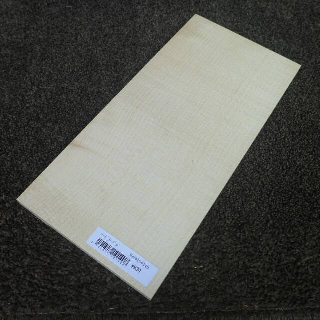 ハードメープル 柾目 300×10×140