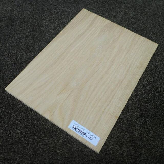 レッドオーク 板目 300×10×220