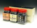 佐賀海苔を使った味付、焼、塩の3種が楽しめる かわそえ海苔3本入(化粧箱入)