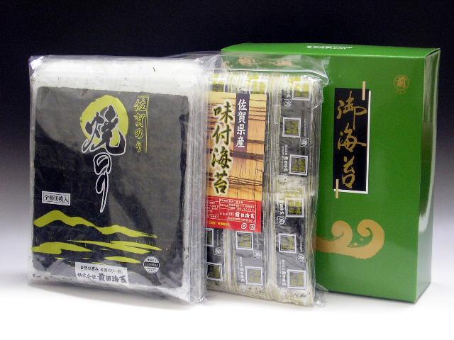 佐賀海苔 味付100袋詰と焼海苔の詰め合わせ YT−3600