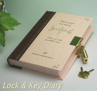 日記帳 鍵付