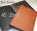 20穴スリムバインダー A5 リングファイル