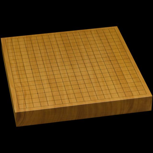 本榧卓上碁盤 1寸8分(一枚板・天地柾) gb10161