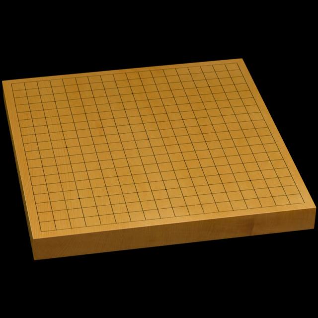 本榧卓上碁盤 1寸3分(一枚板・天地柾) gb10165
