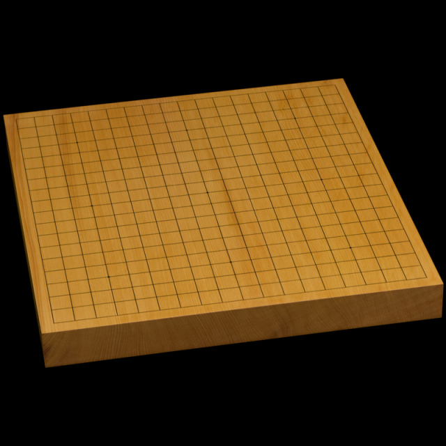 本榧卓上碁盤 1寸5分(一枚板・天柾) gb10166
