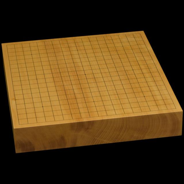本榧卓上碁盤 2寸5分(一枚板・天地柾) gb20299