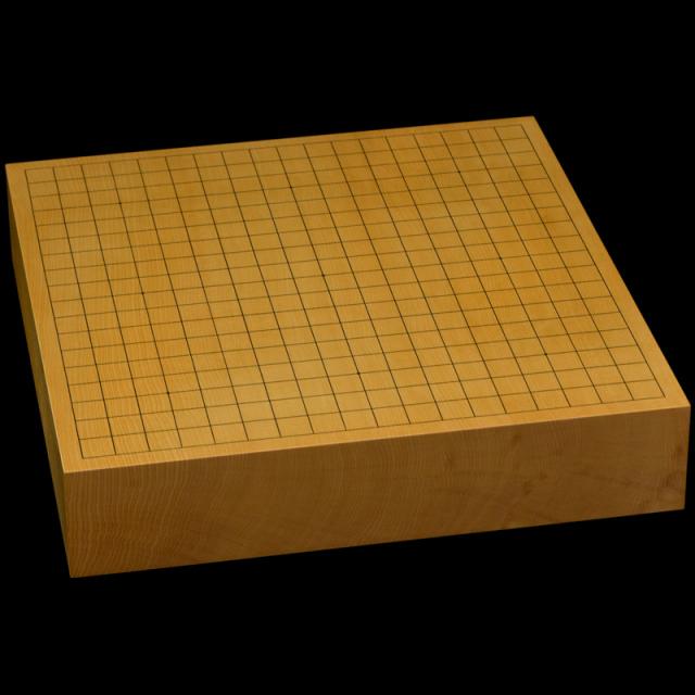 本榧卓上碁盤 2寸8分(一枚板・天地柾) gb20312