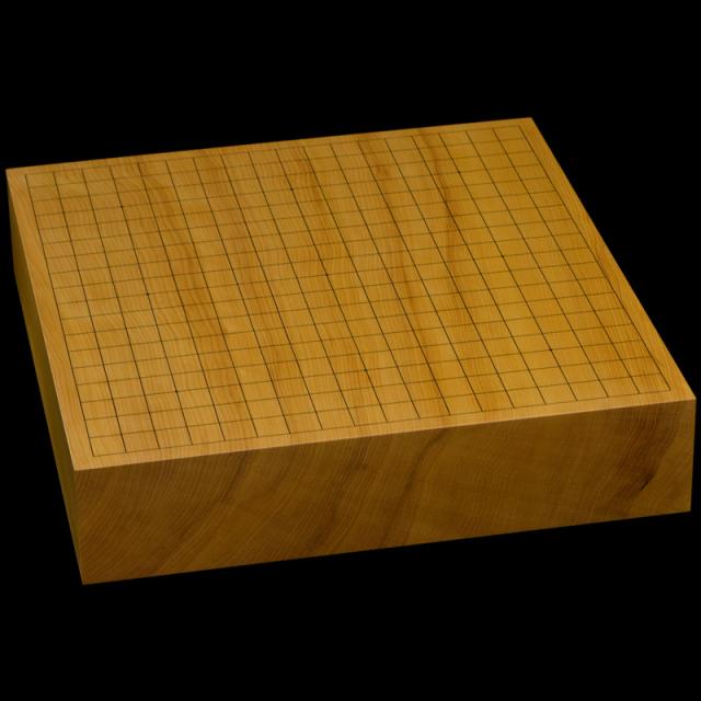 本榧卓上碁盤 3寸(一枚板・天柾) gb30031