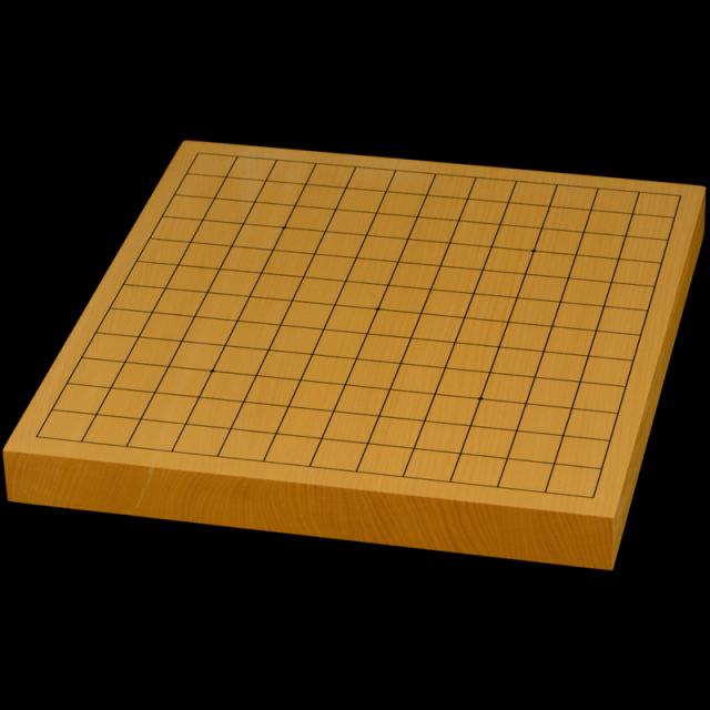 【おまかせ】本榧13路盤・9路盤 1寸(一枚板・柾目)