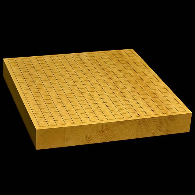 【訳あり・おまかせ】本榧卓上碁盤 2寸(ハギ盤 柾目)