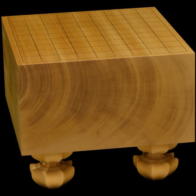 本榧足付将棋盤 6寸(天柾) sa60032