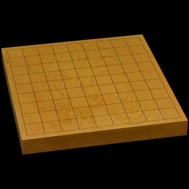 本榧卓上将棋盤 1寸2分(一枚板・木裏) sb10354