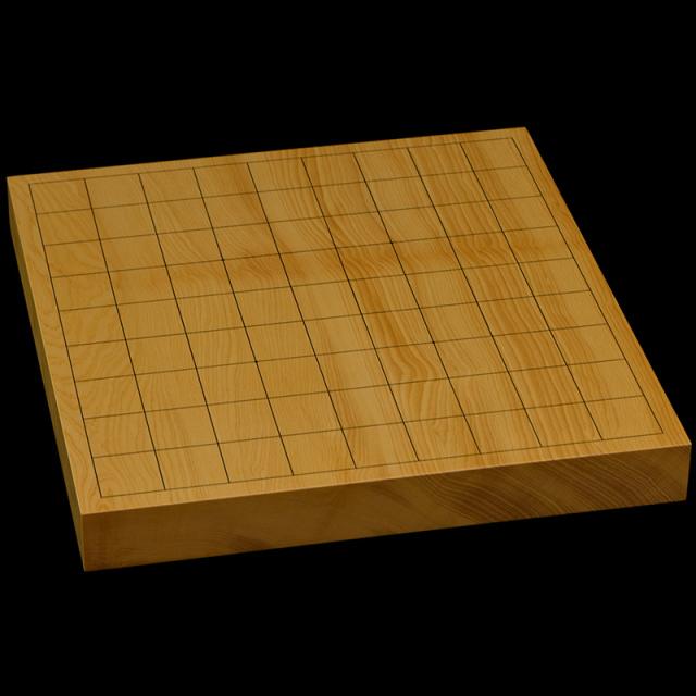 本榧卓上将棋盤 1寸3分(一枚板・木表) sb10355