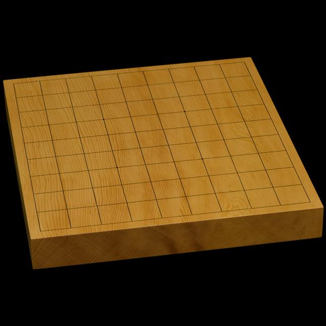 本榧卓上将棋盤 1寸4分(一枚板・天柾) sb10356