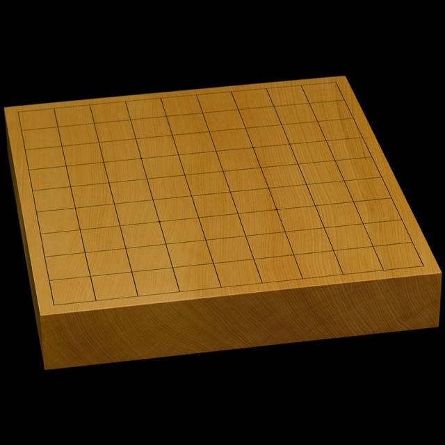 本榧卓上将棋盤 1寸8分(一枚板・天地柾) sb10357