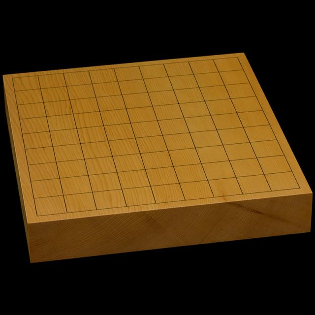 本榧卓上将棋盤 1寸8分(一枚板・追柾) sb10359
