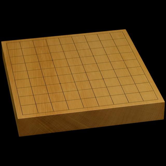 本榧卓上将棋盤 1寸6分(一枚板・天柾) sb10361