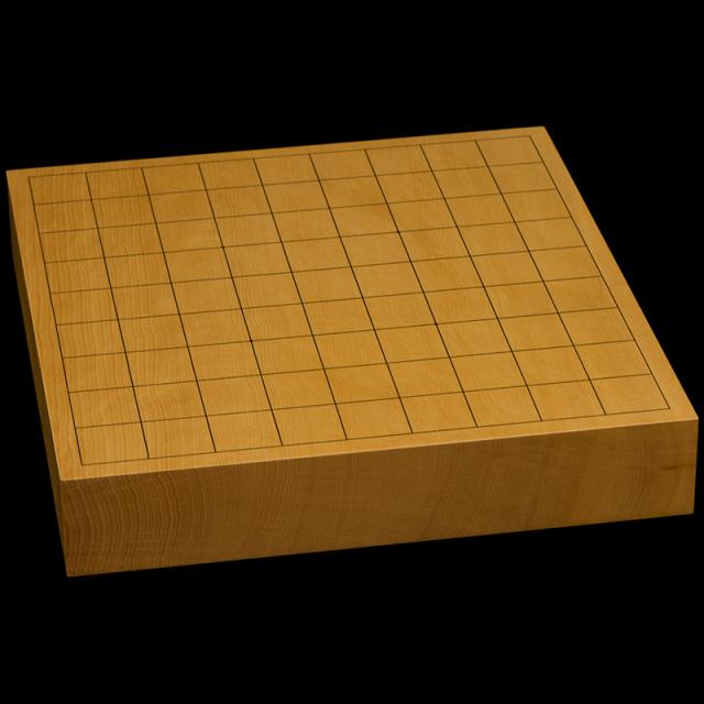 本榧卓上将棋盤 1寸9分(一枚板・天地柾) sb10362