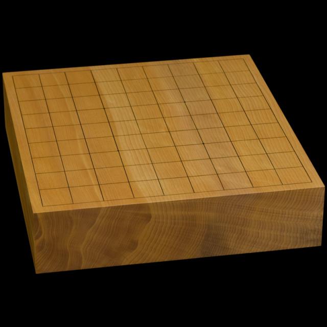 本榧卓上将棋盤 2寸6分(一枚板・天柾) sb20592