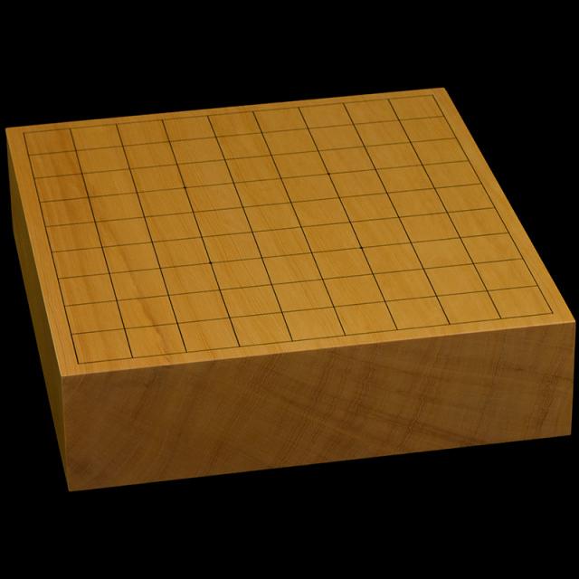 本榧卓上将棋盤 2寸9分(一枚板・天地柾) sb20617