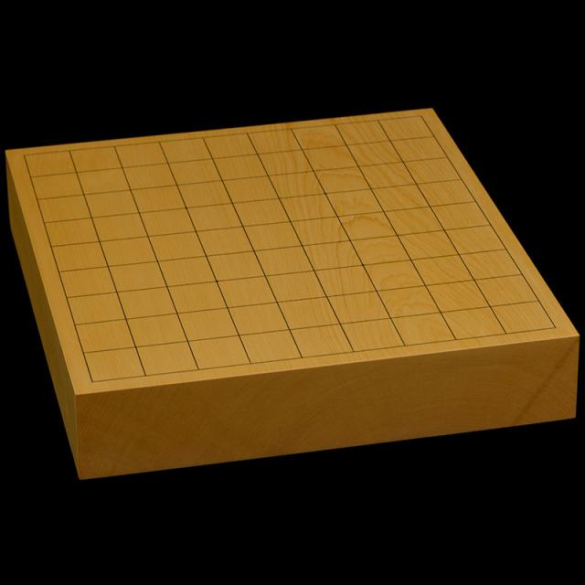 本榧卓上将棋盤 2寸1分(一枚板・木表) sb20619