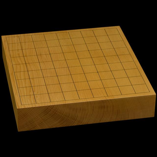 本榧卓上将棋盤 2寸2分(一枚板・追柾) sb20623