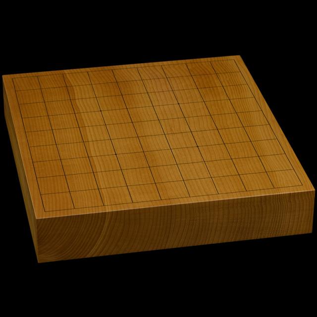 本榧卓上将棋盤 2寸(一枚板・天柾) sb20626