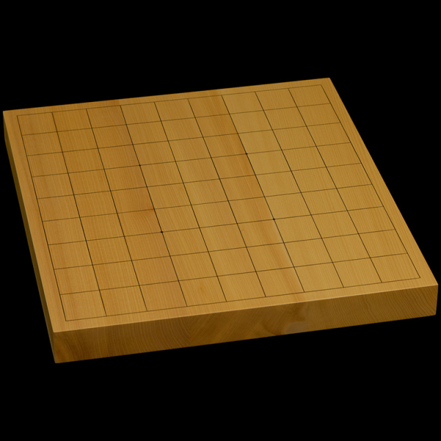 国産本榧卓上将棋盤 1寸1分(ハギ盤) st10039