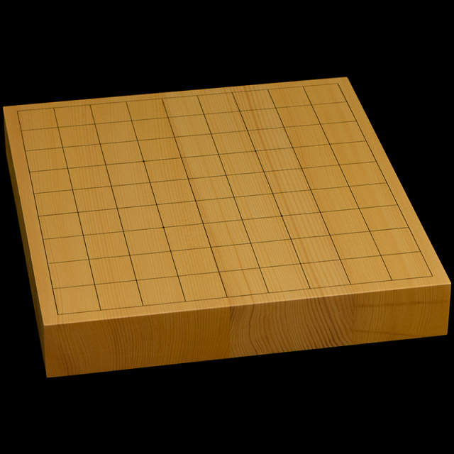 本榧卓上将棋盤 1寸7分(ハギ盤) st10040