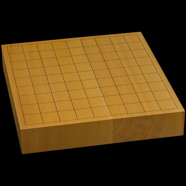 国産本榧卓上将棋盤 2寸(ハギ盤) st20044