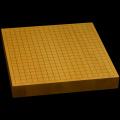 本榧卓上碁盤 1寸9分(一枚板・天地柾) gb10098