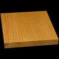 本榧卓上碁盤 1寸7分(一枚板・天柾) gb10099
