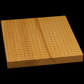 本榧卓上碁盤 1寸5分(一枚板・木裏) gb10100