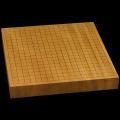 本榧卓上碁盤 1寸8分(一枚板・天地柾) gb10105