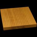 本榧卓上碁盤 1寸5分(一枚板・追柾) gb10106