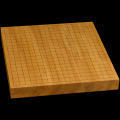 本榧卓上碁盤 1寸6分(一枚板・天柾) gb10110