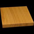 本榧卓上碁盤 1寸7分(一枚板・追柾) gb10113