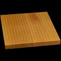 本榧卓上碁盤 1寸3分(一枚板・木表) gb10114
