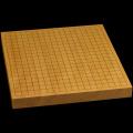 本榧卓上碁盤 1寸4分(一枚板・天柾) gb10115