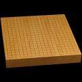 本榧卓上碁盤 1寸9分(一枚板・追柾) gb10118