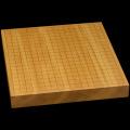 本榧卓上碁盤 1寸7分(一枚板・天柾) gb10121