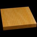 本榧卓上碁盤 1寸8分(一枚板・天柾) gb10122