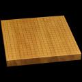 本榧卓上碁盤 1寸4分(一枚板・天地柾) gb10124