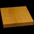 本榧卓上碁盤 1寸9分(一枚板・木裏) gb10125